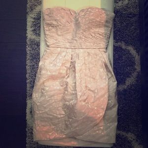 NWT! Max & Cleo-Gorgeous taupe Dress